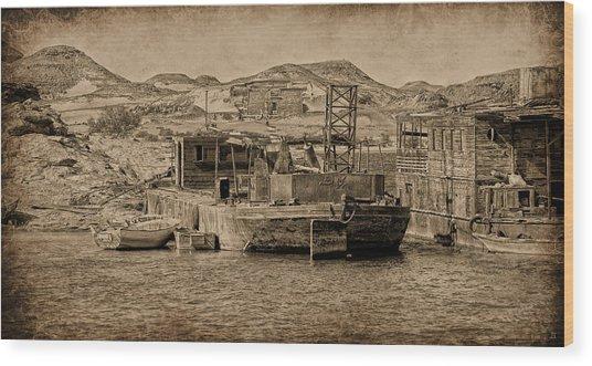 Wadi Es Sebua Wood Print