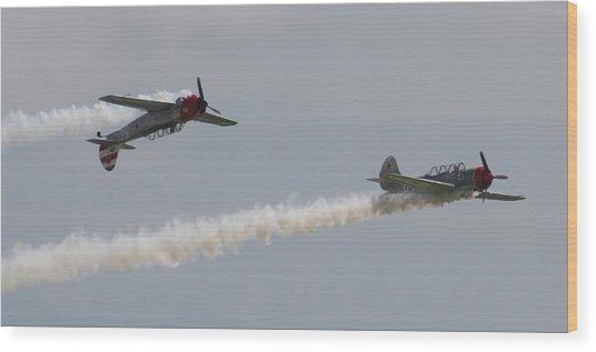 Wafb 09 Yak 52 Aerostar 6 Wood Print by David Dunham