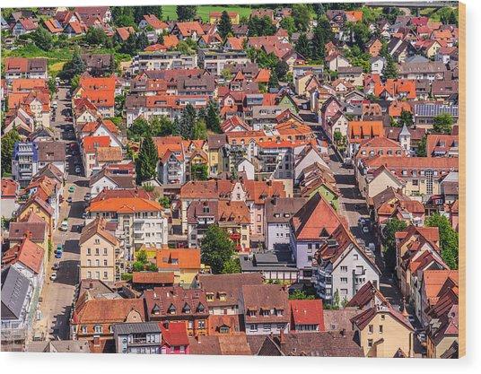 Waldkirch 2 Wood Print
