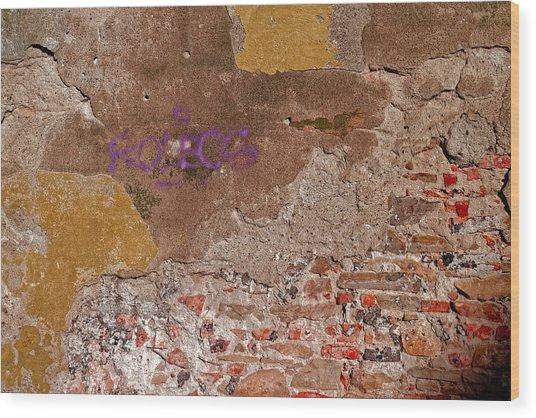 Wall Art Sighisoara Wood Print
