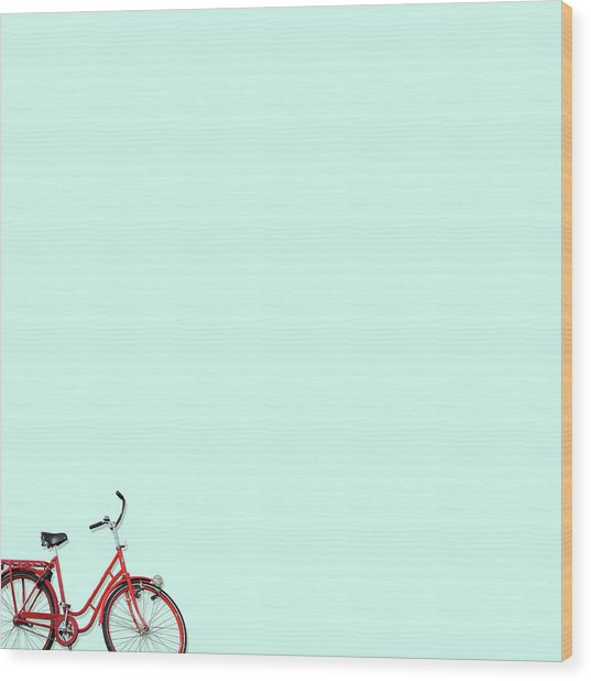 Wall Bici Wood Print