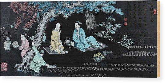 Wall Mural In Qibao - Shanghai - China Wood Print