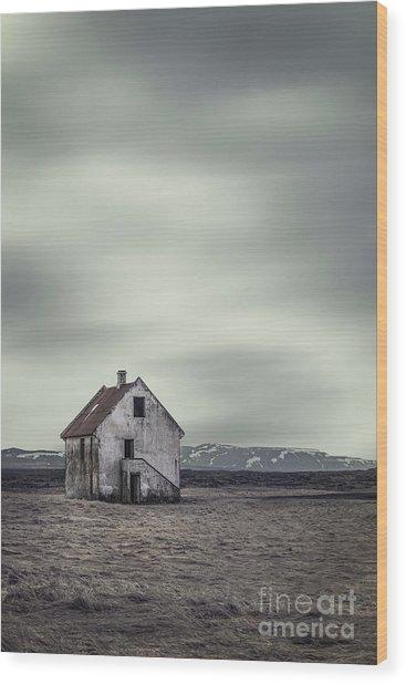 Walls Of Desolation Wood Print