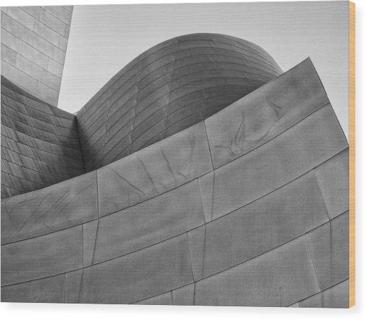 Walt Disney Concert Hall Four Wood Print