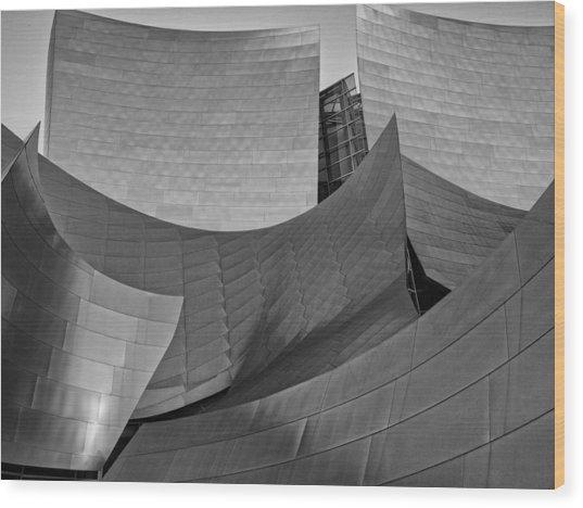 Walt Disney Concert Hall Two Wood Print