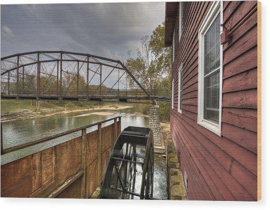 War Eagle Mill Wood Print