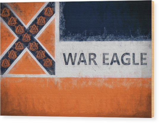War Eagle Mississippi Wood Print by JC Findley