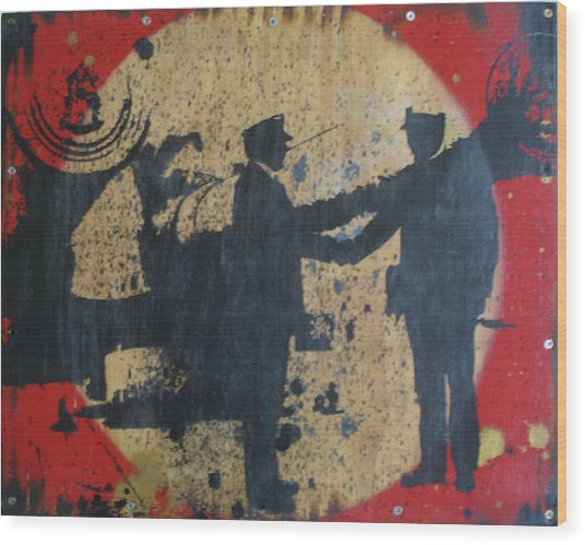 War Mongers Wood Print