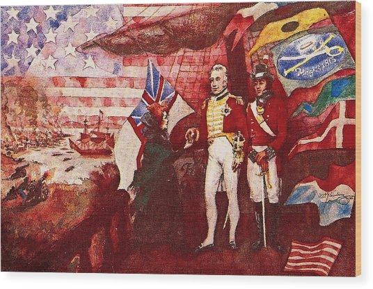War Of 1812 Wood Print