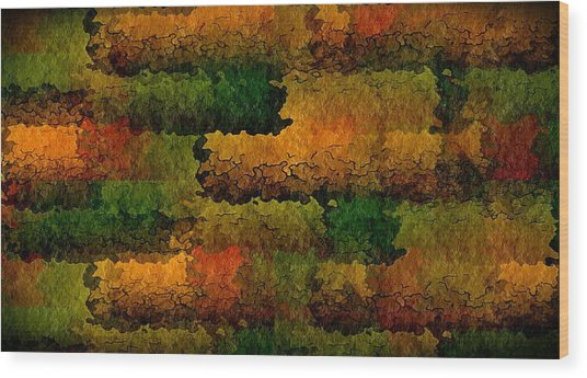 Warm Georgia Clay Wood Print by Terry Mulligan