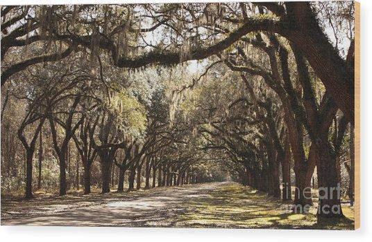 Warm Southern Hospitality Wood Print