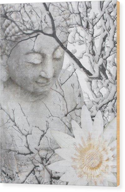 Warm Winter's Moment Wood Print