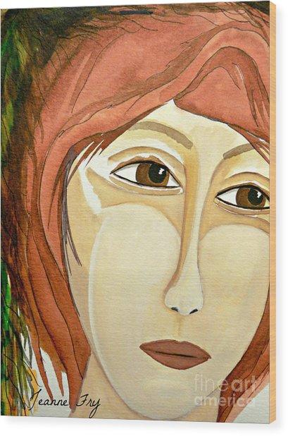 Warrior Woman - No Apologies Wood Print