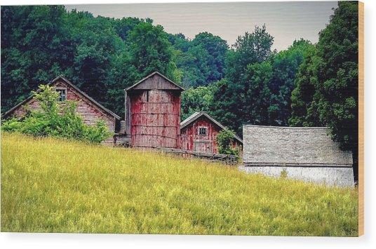 Washington County Vignette Wood Print
