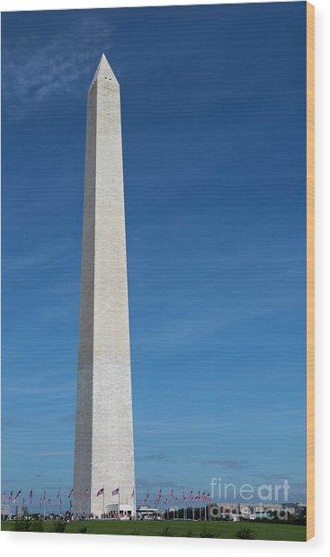 Washington Monument Wood Print