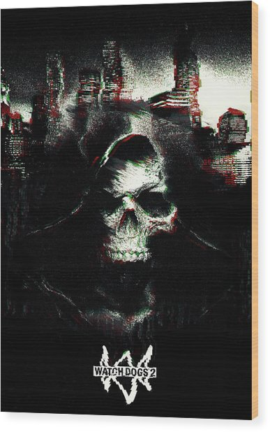 Watch Dogs 2 Wood Print
