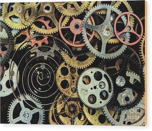 Watch Gears #1 Wood Print