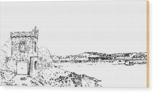 Watchtower Bay. Barry Wood Print