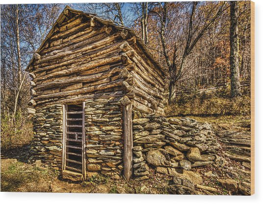 Water Shed Wood Print
