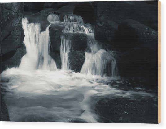 Water Stair Wood Print