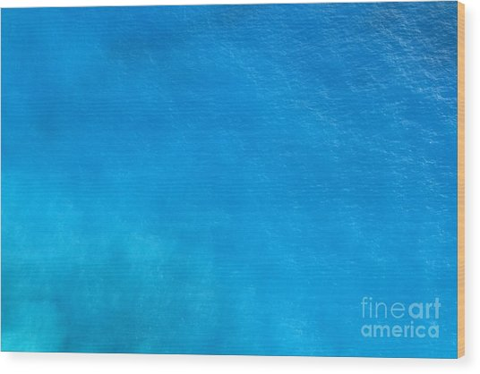 Water Surface Wood Print