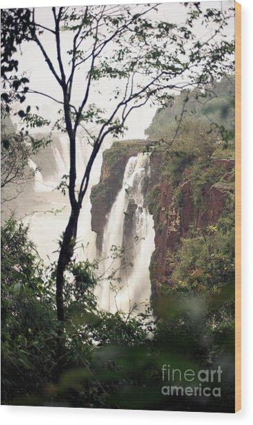 Waterfall 7 Wood Print