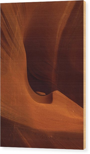 Waterholes Canyon Wood Print