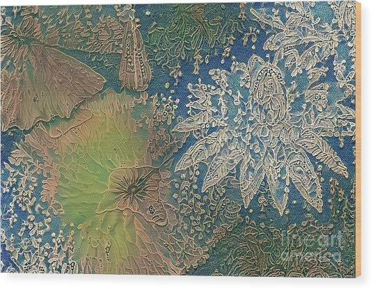 Waterlilies 10 Wood Print