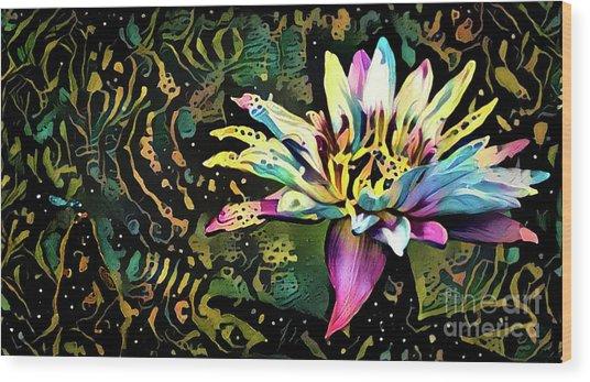 Waterlilies 3 Wood Print