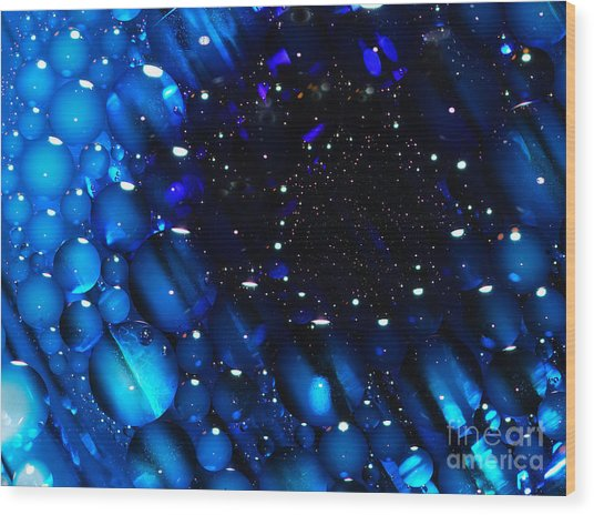 Waterscape Black Hole Wood Print