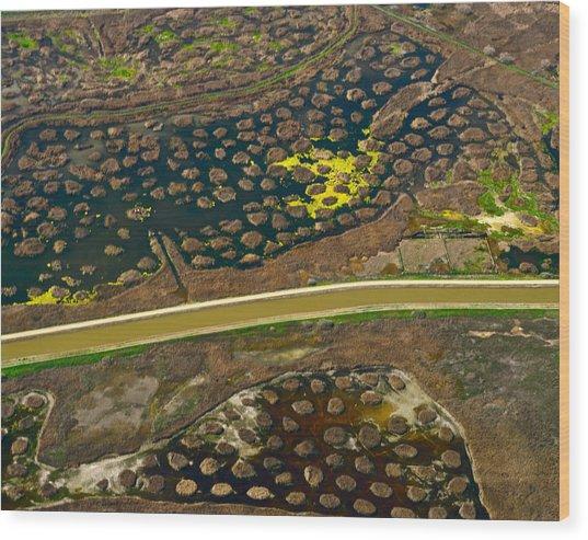 Waterworks 5 Wood Print by Sylvan Adams