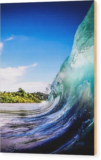 Wave Wall Wood Print