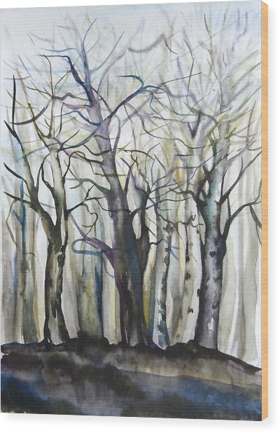 Waving Welcome To Spring Wood Print by Anna  Duyunova