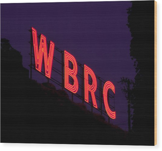 Wbrc Wood Print