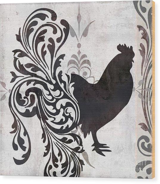 Weathervane II Wood Print