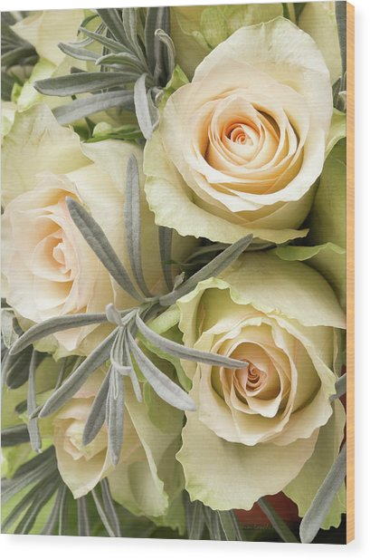 Wedding Flowers Wood Print