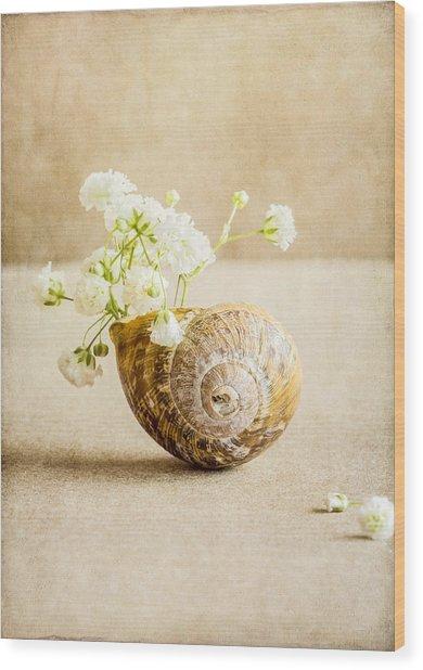 Wee Vase Wood Print