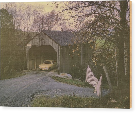 Weekend In New England Wood Print by JAMART Photography
