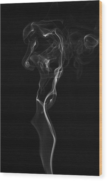 Weeping Woman Wood Print by Bryan Steffy