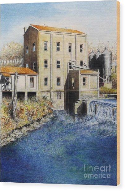 Weisenberger Mill Wood Print