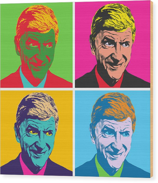 Wenger A La Warhol Wood Print