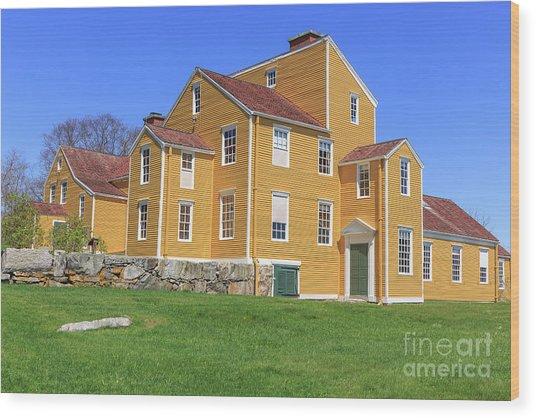 Wentworth Coolidge Mansion Wood Print
