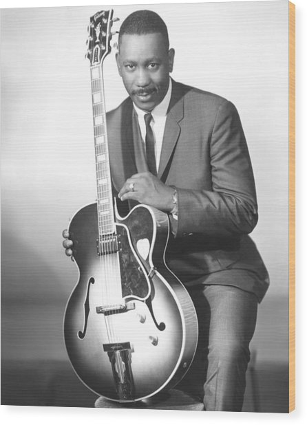 Wes Montgomery, Early 1960s Wood Print