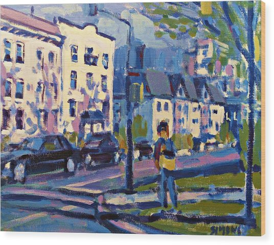 West 16th Wood Print by Brian Simons