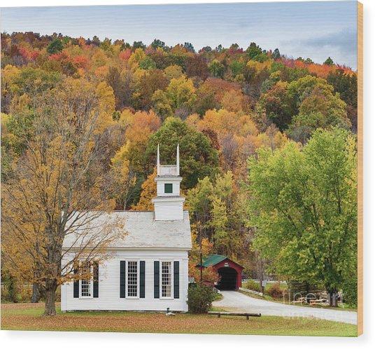 West Arlington Church Wood Print