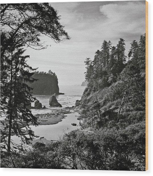 West Coast Wood Print