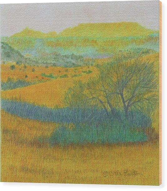 West Dakota Reverie Wood Print