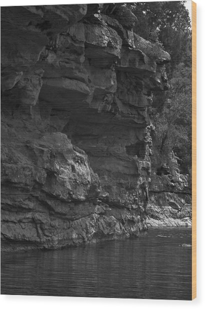 West-fork White River Wood Print
