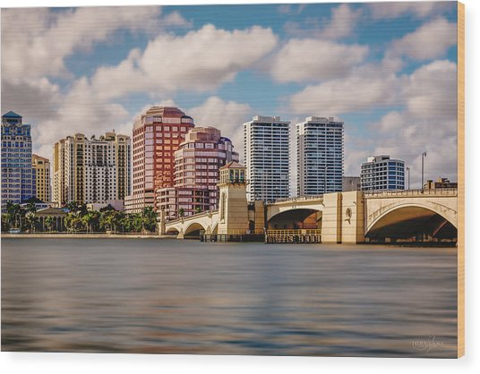 West Palm Beach 2015 Wood Print
