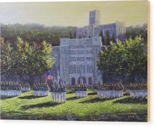 West Point Parade Wood Print
